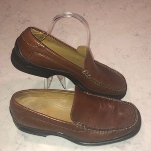 COLE HAAN NIKE AIR BROWN LOAFER